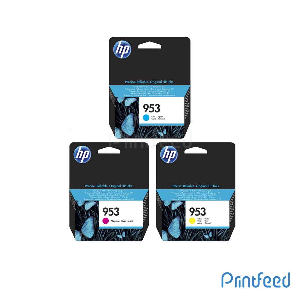 HP 953 3 Color Ink Cartridge Pack