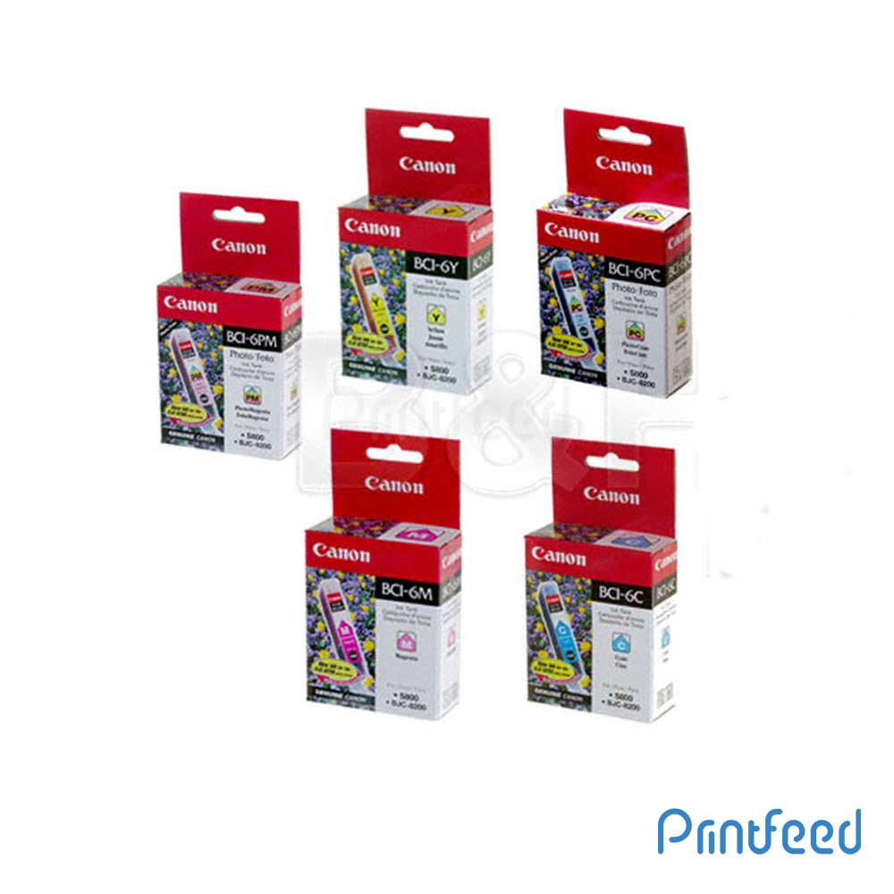 Canon BCI-6 7 Color ink Cartridge Pack