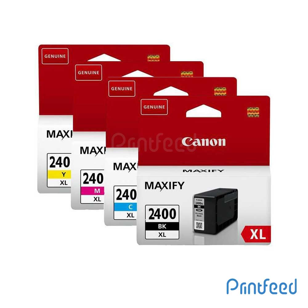 Canon PGI-2400XL Pigment 4 Color ink Cartridge Pack