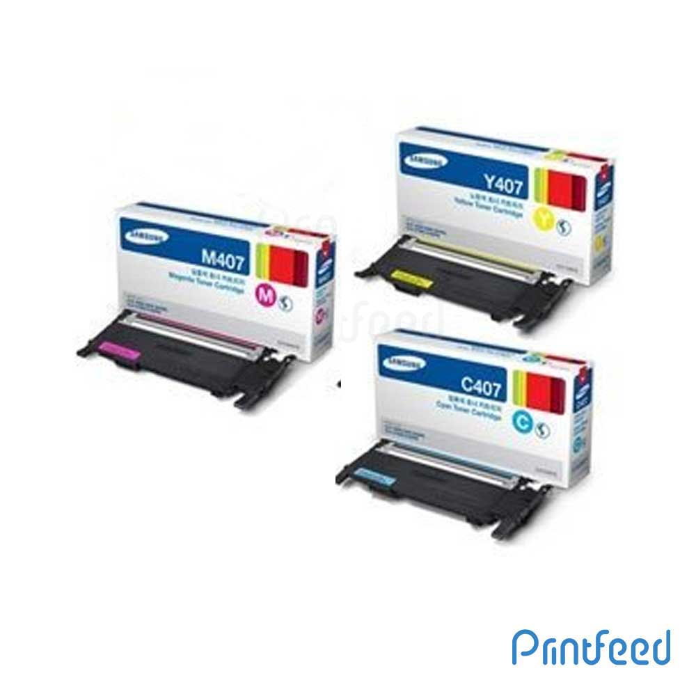 Samsung CLT-4072 3 Color Toner Cartridge Pack