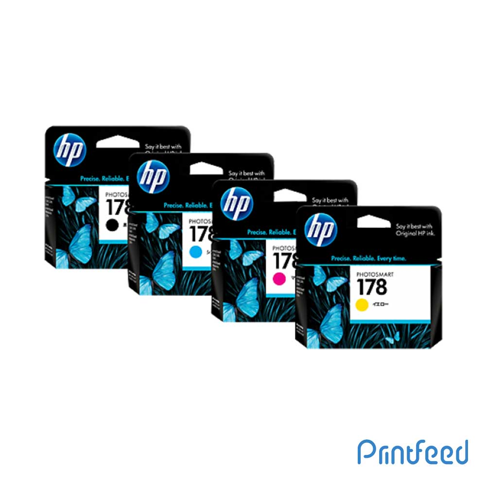 HP 178 4 Color Inkjet Print Cartridge Pack