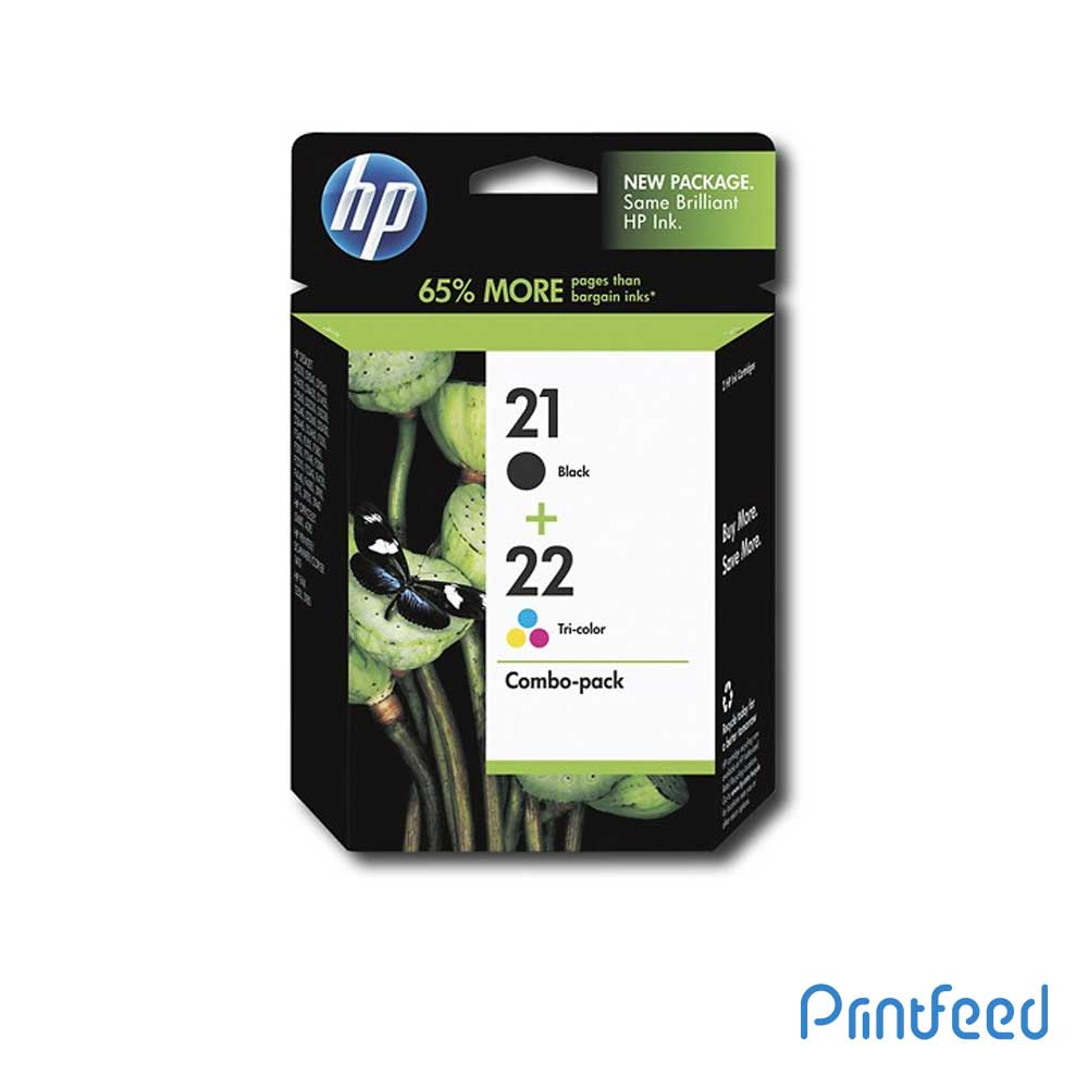 HP 21 / 22 Inkjet Print Cartridge Pack