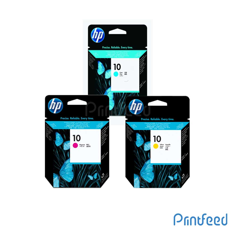 HP 10 3 Color Inkjet Print Cartridge Pack
