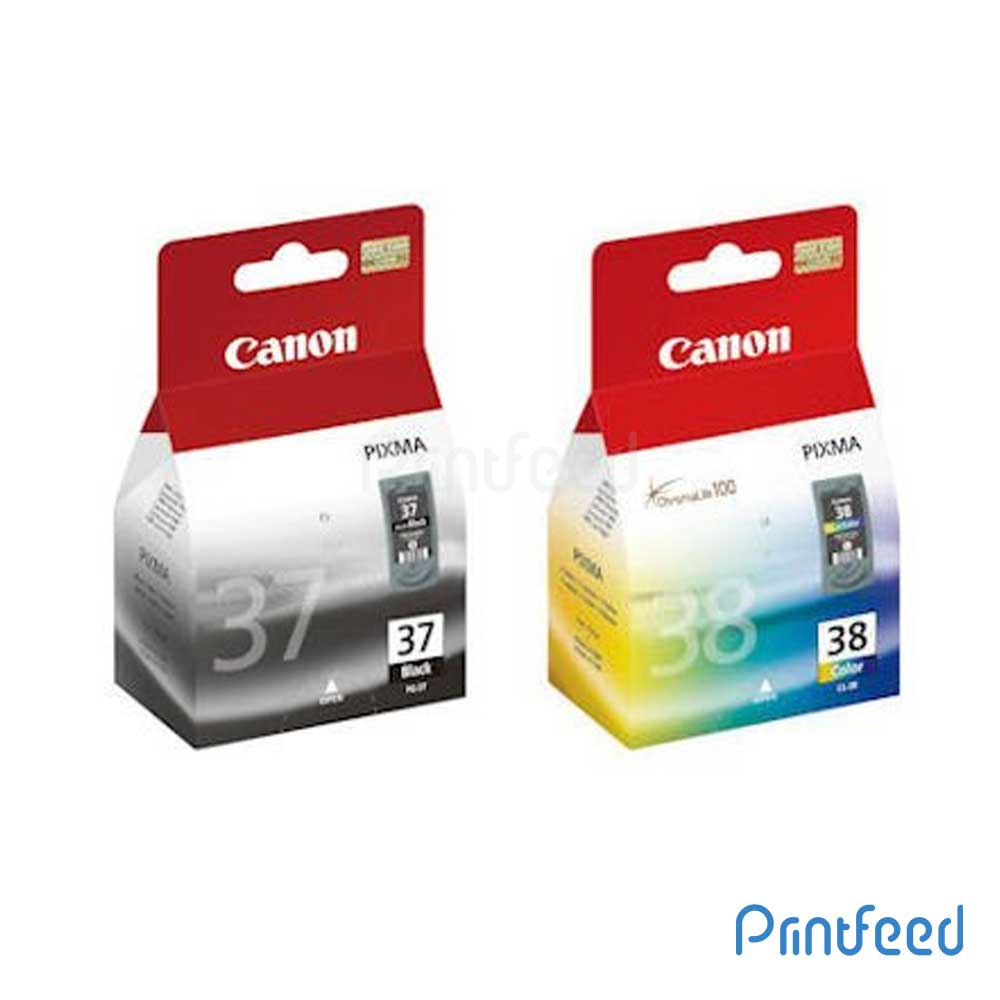 Canon PG-37 / CL-38 ink Cartridge Pack