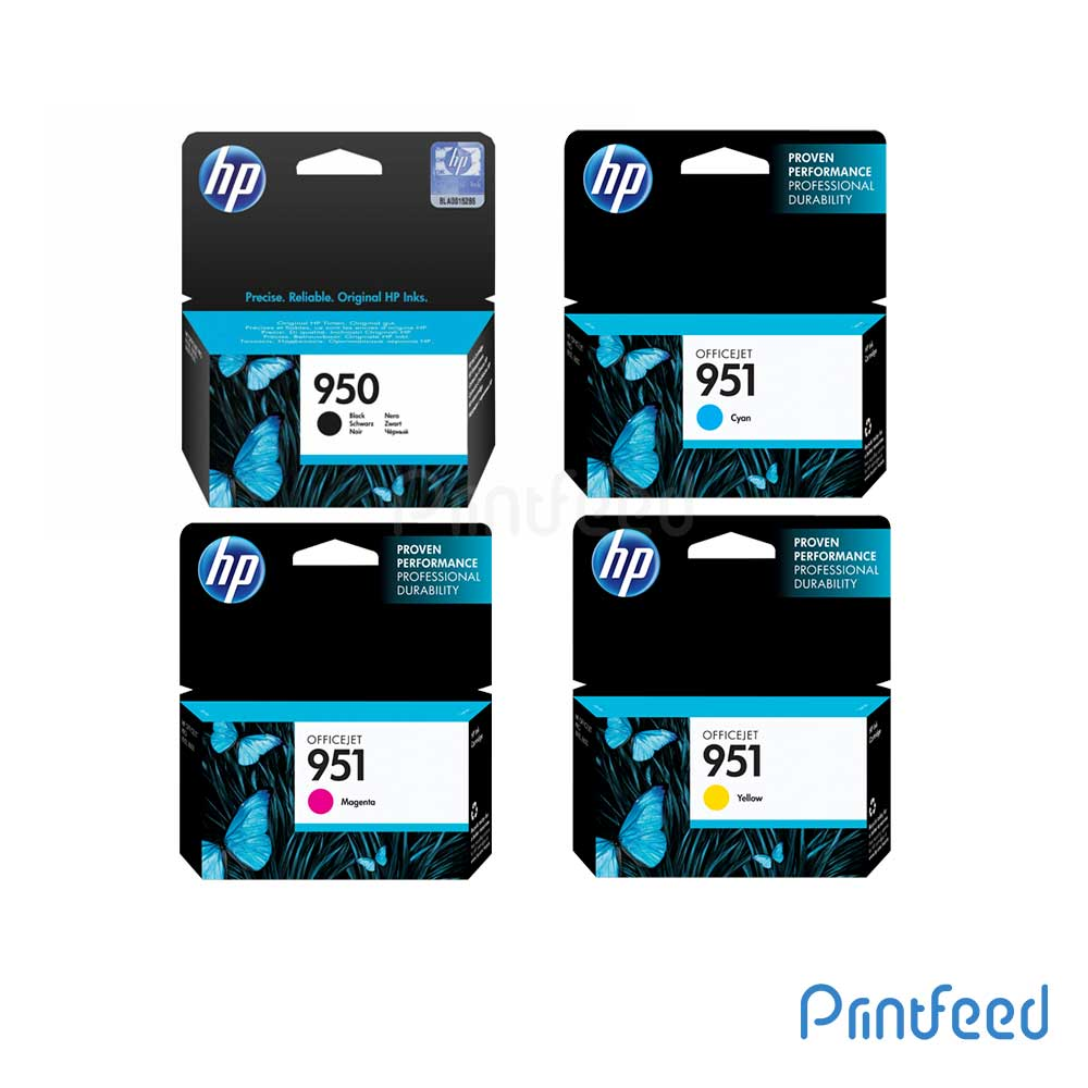 HP 950 / 951 4 Color Ink Cartridge Pack