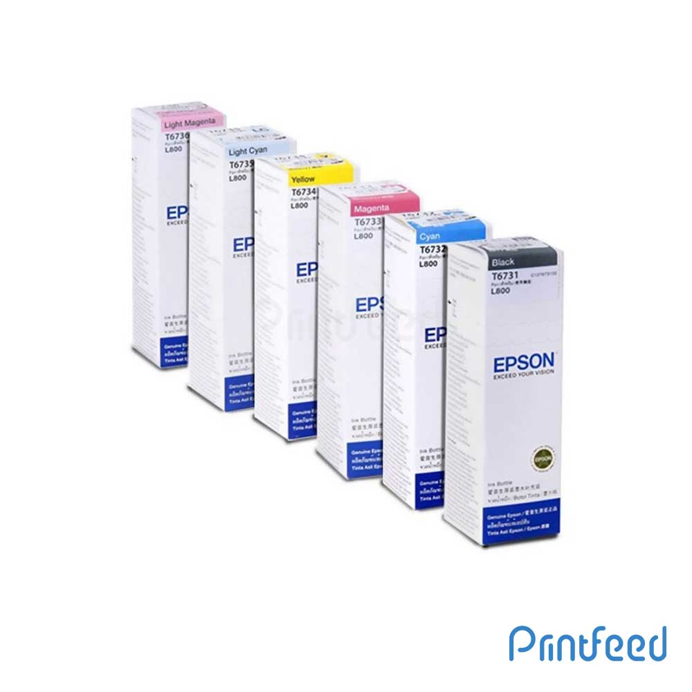 Epson T673 6 Color Ink BOTTLE 70ML Pack