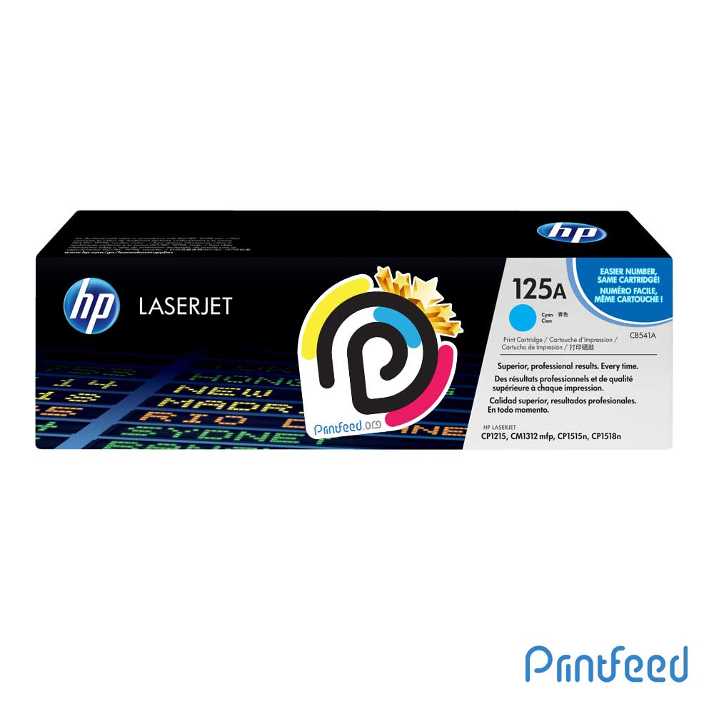 HP 125A ColorLaser Cyan Compatible Cartridge