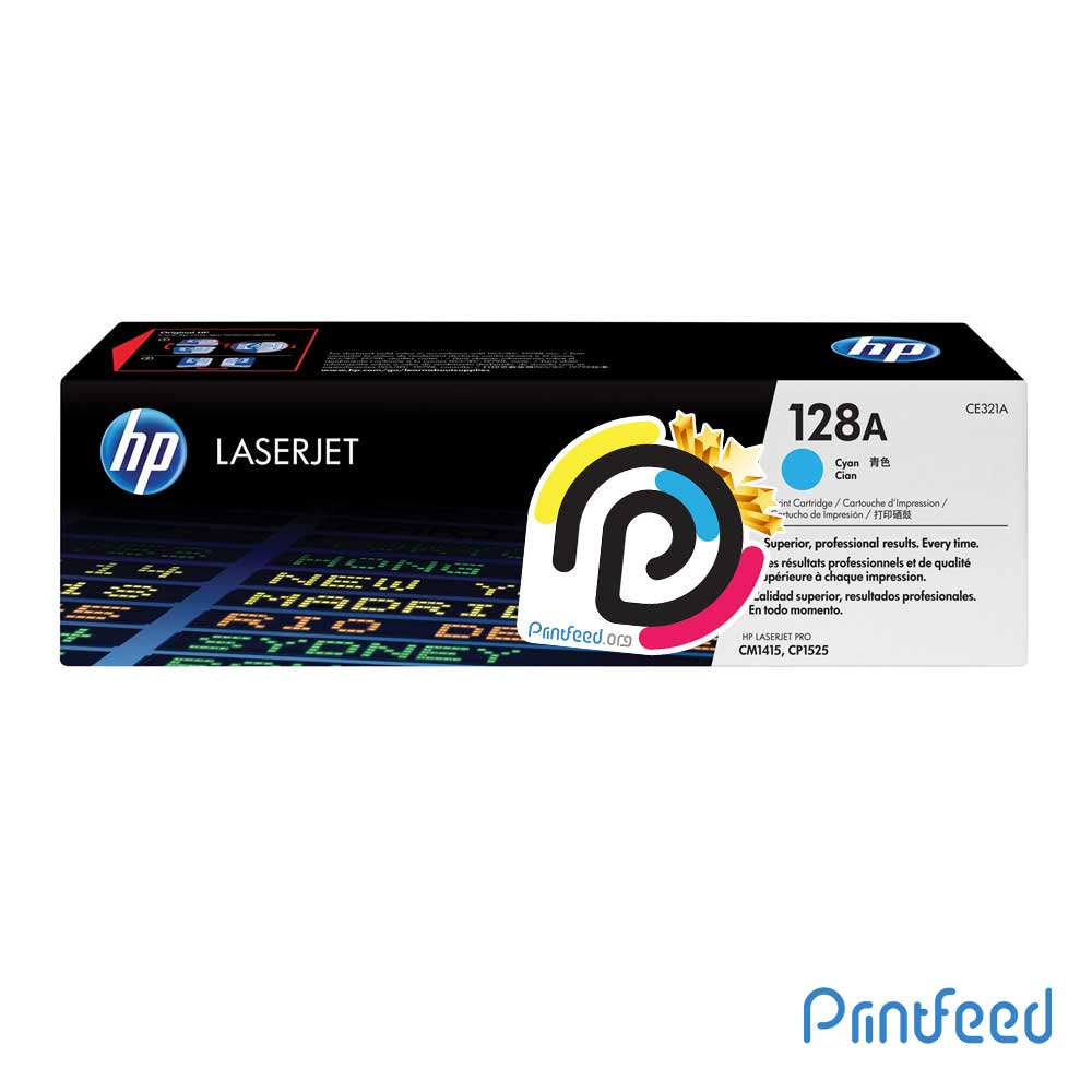 HP 128A ColorLaser Cyan Compatible Cartridge