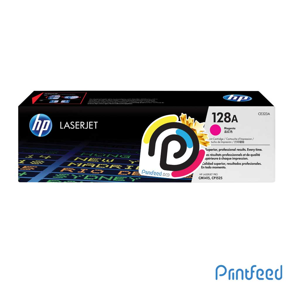 HP 128A ColorLaser Magenta Compatible Cartridge