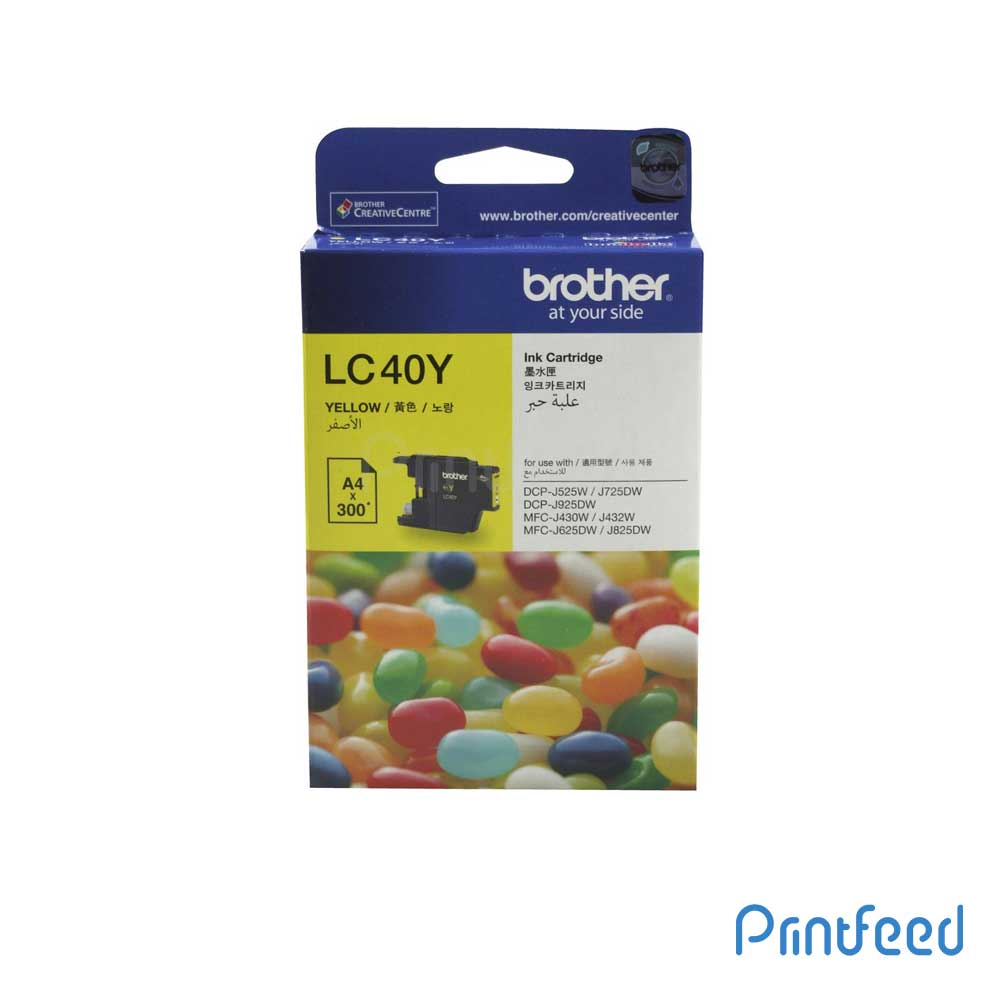 Brother LC-40 yellow ink Cartridge