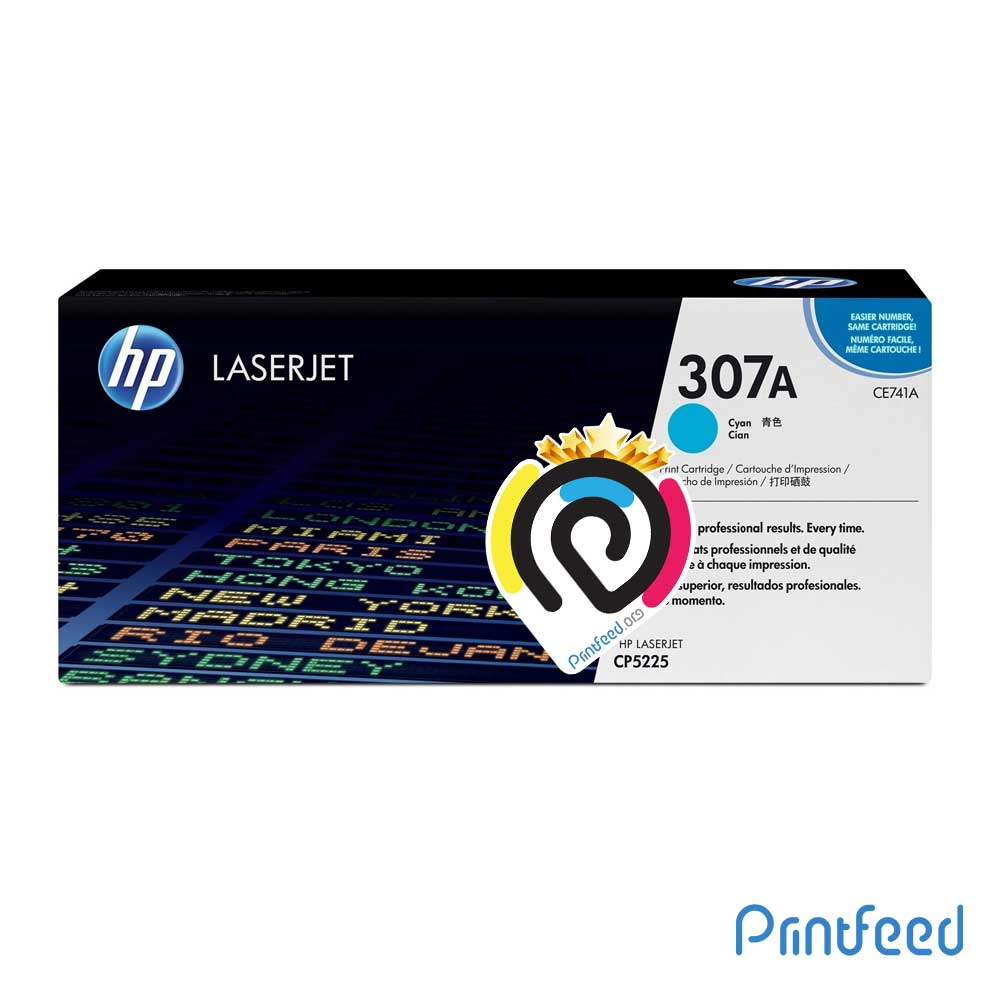HP 307A ColorLaser Cyan Compatible Cartridge