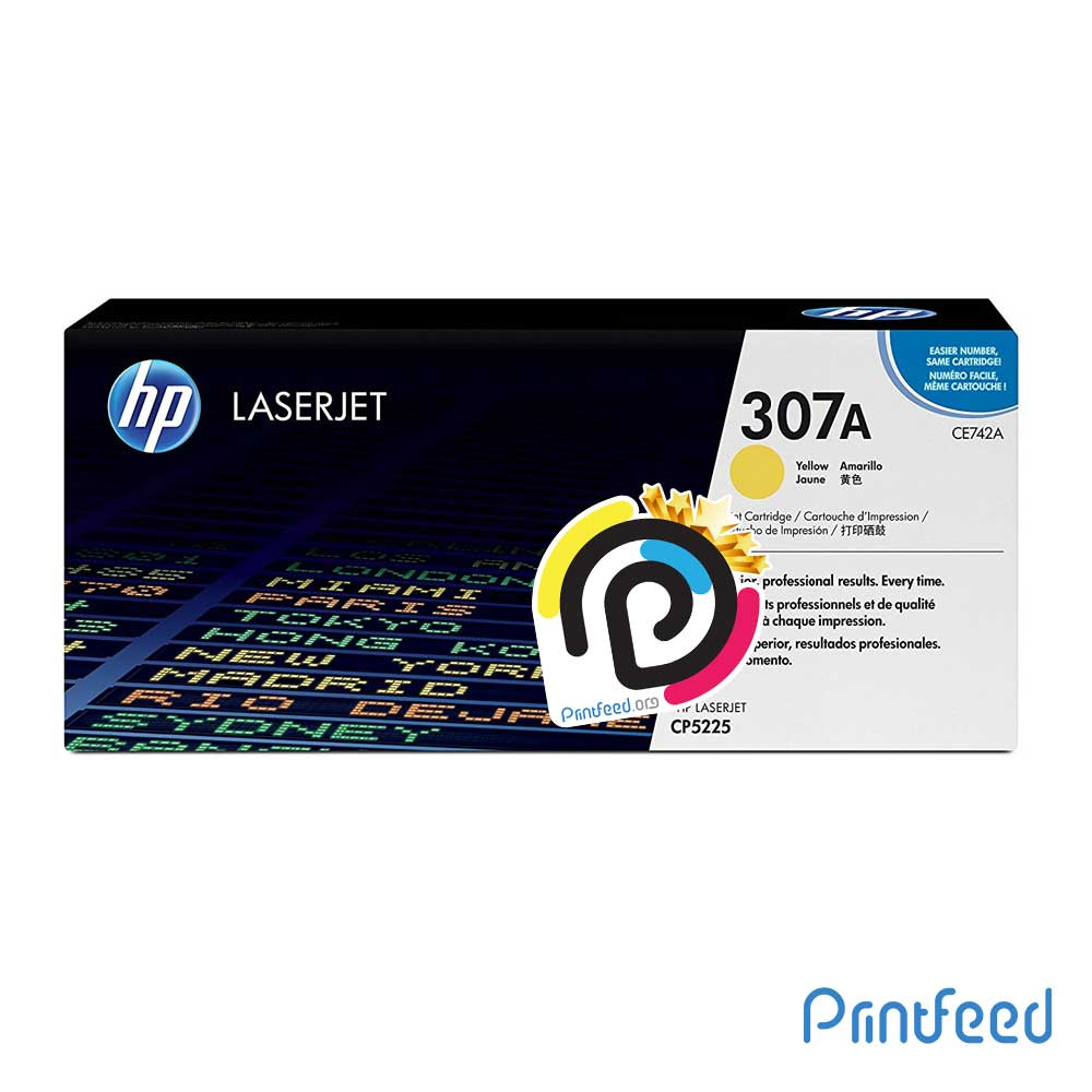 HP 307A ColorLaser Yellow Compatible Cartridge