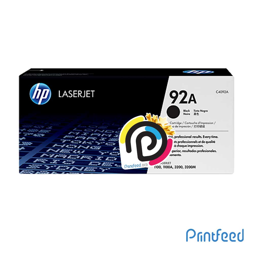 HP 92A Laser Compatible Cartridge