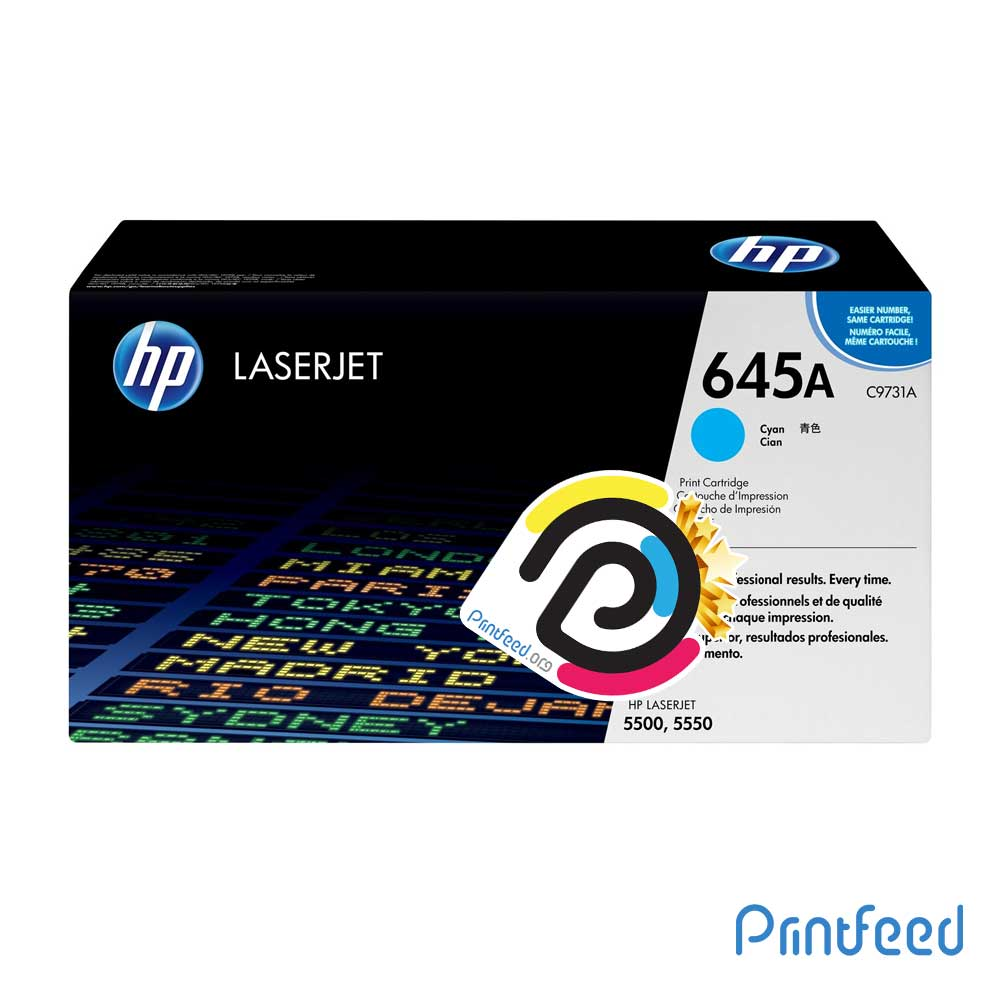 HP 645A ColorLaser Cyan Compatible Cartridge