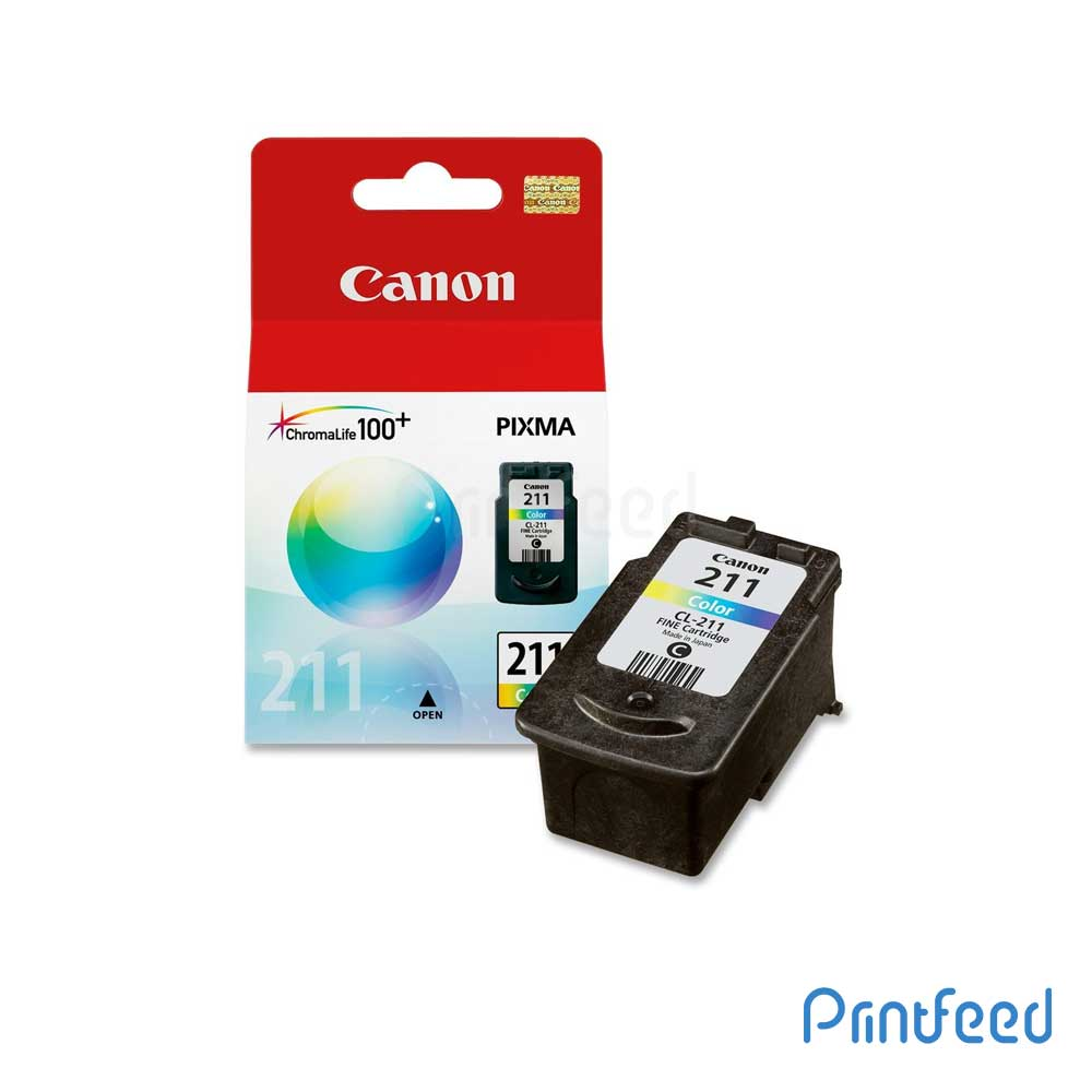 Canon CL-211 Tri-Color Ink Cartridge
