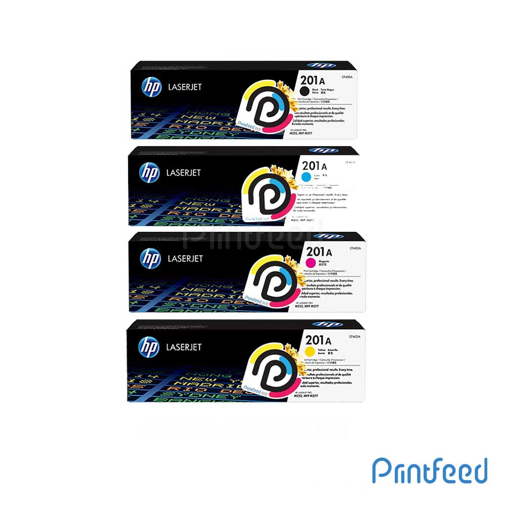HP 201A 4 Color Laserjet Compatible Cartridge Pack