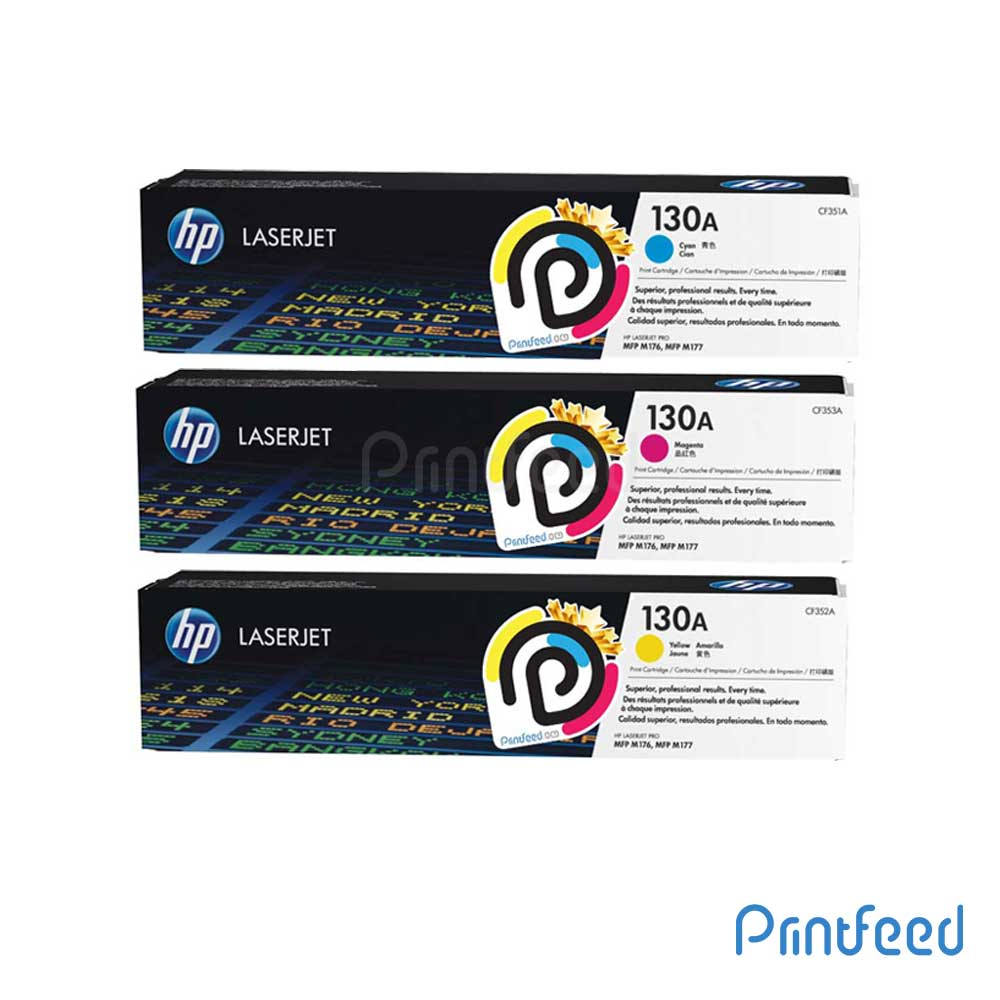 HP 131A 3 Color Laserjet Compatible Cartridge Pack