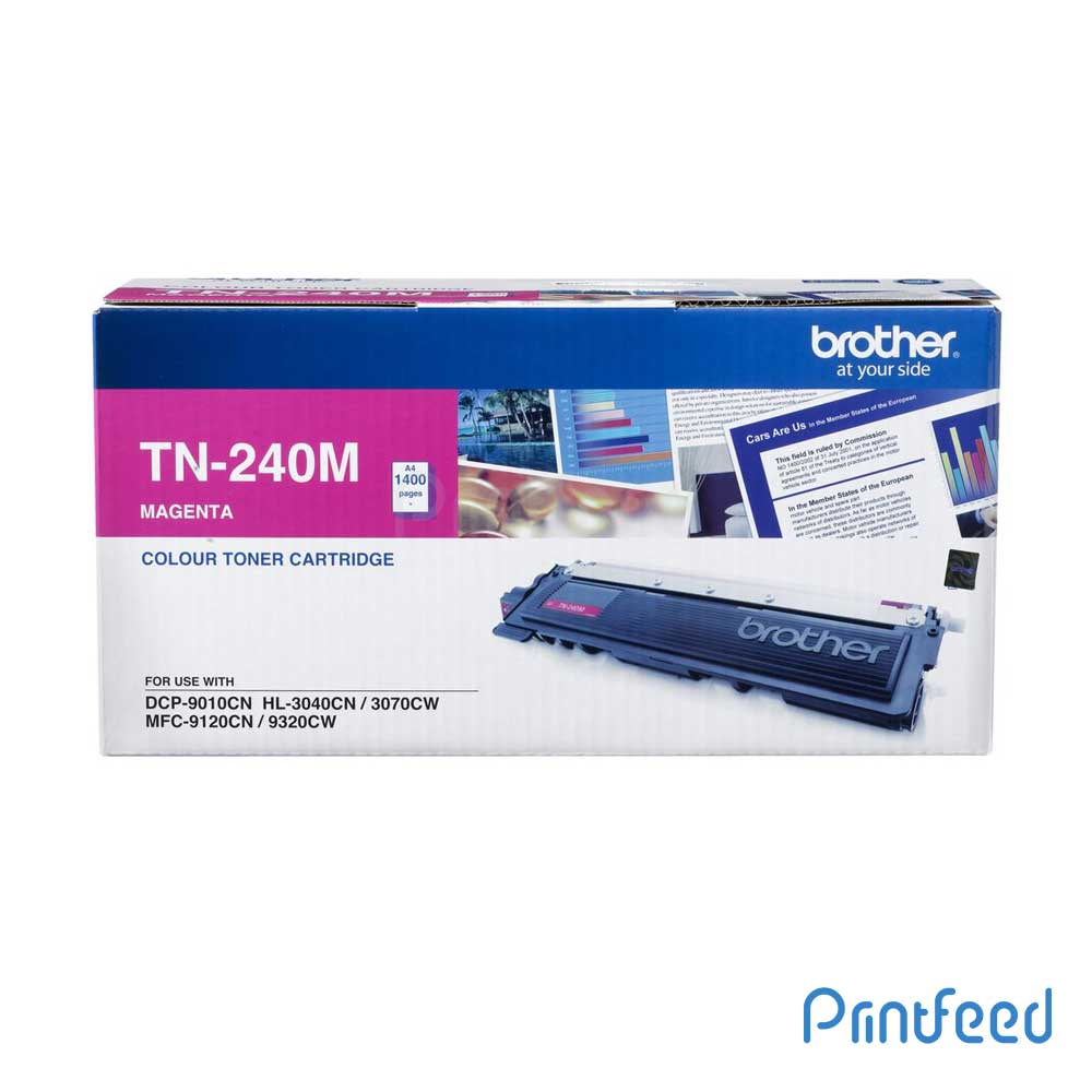 Brother TN-240 Magenta Laser Toner Cartridge