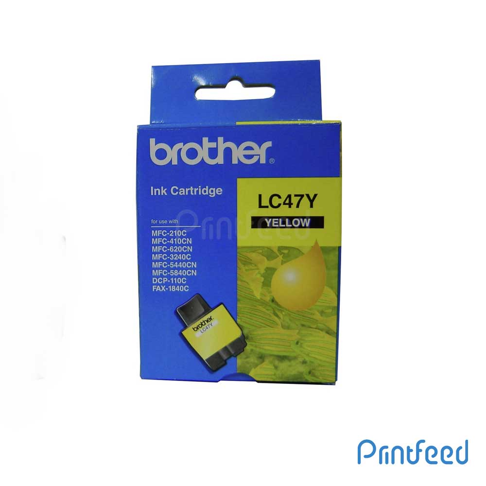 Brother LC-47 yellow ink Cartridge