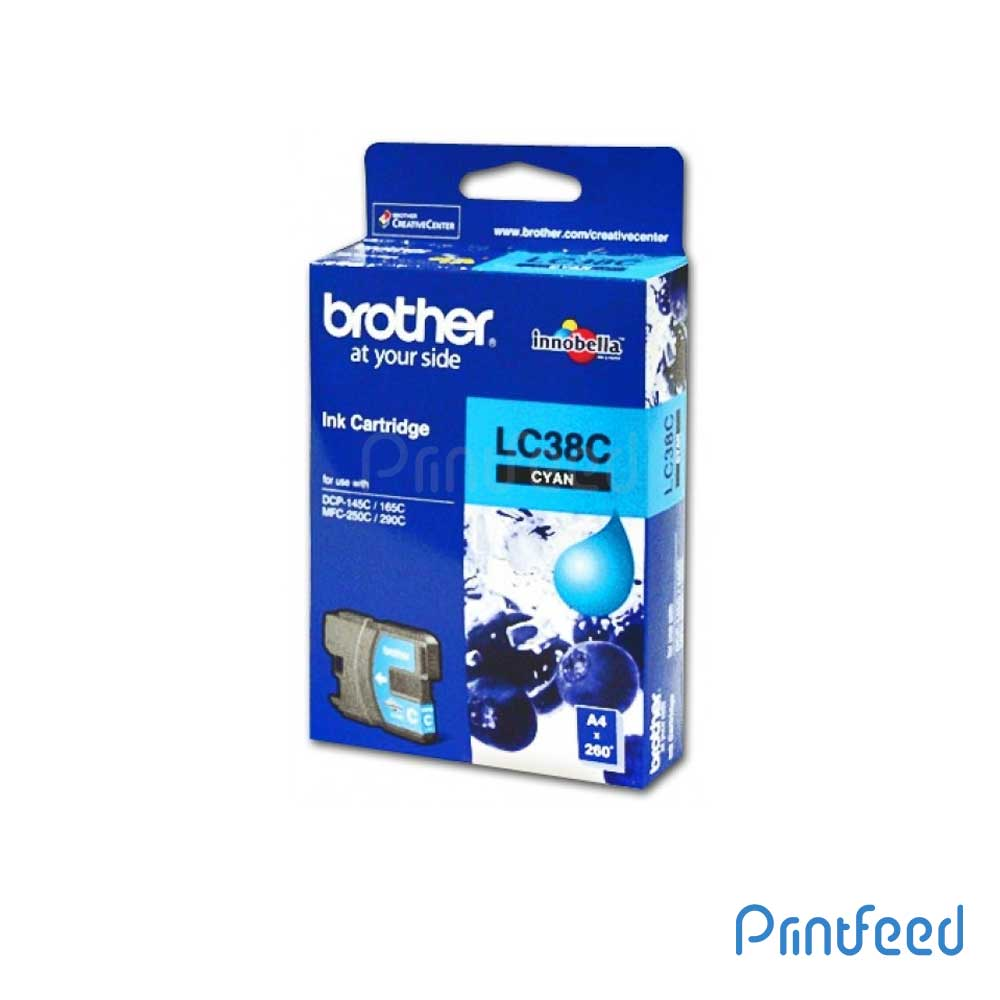 Brother LC-38 Cyan ink Cartridge