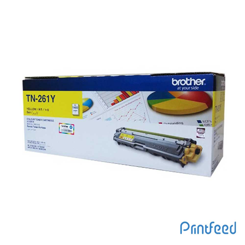 Brother TN-261 Yellow Laser Toner Cartridge