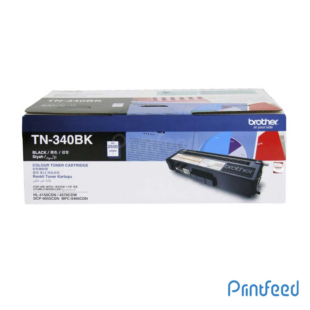 Brother TN-340 Black Laser Toner Cartridge