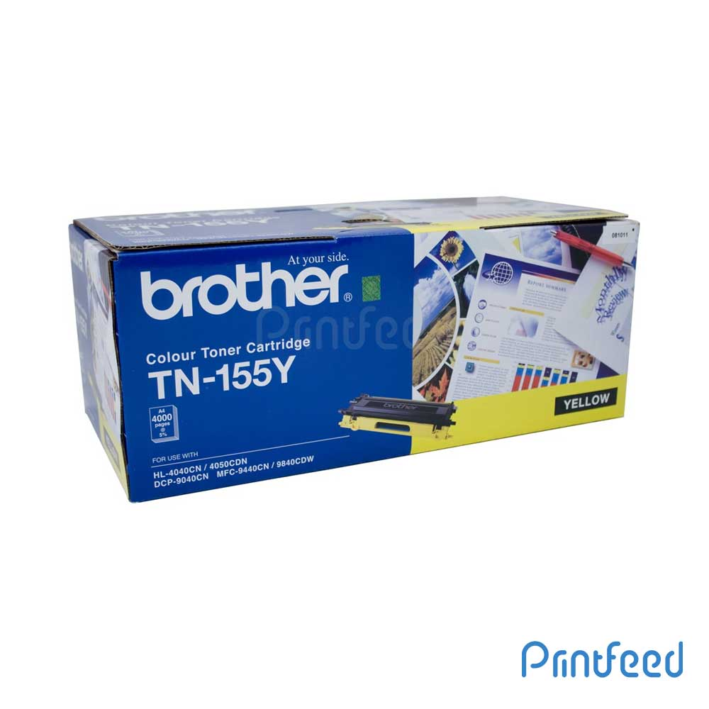 Brother TN-155 Yellow Laser Toner Cartridge