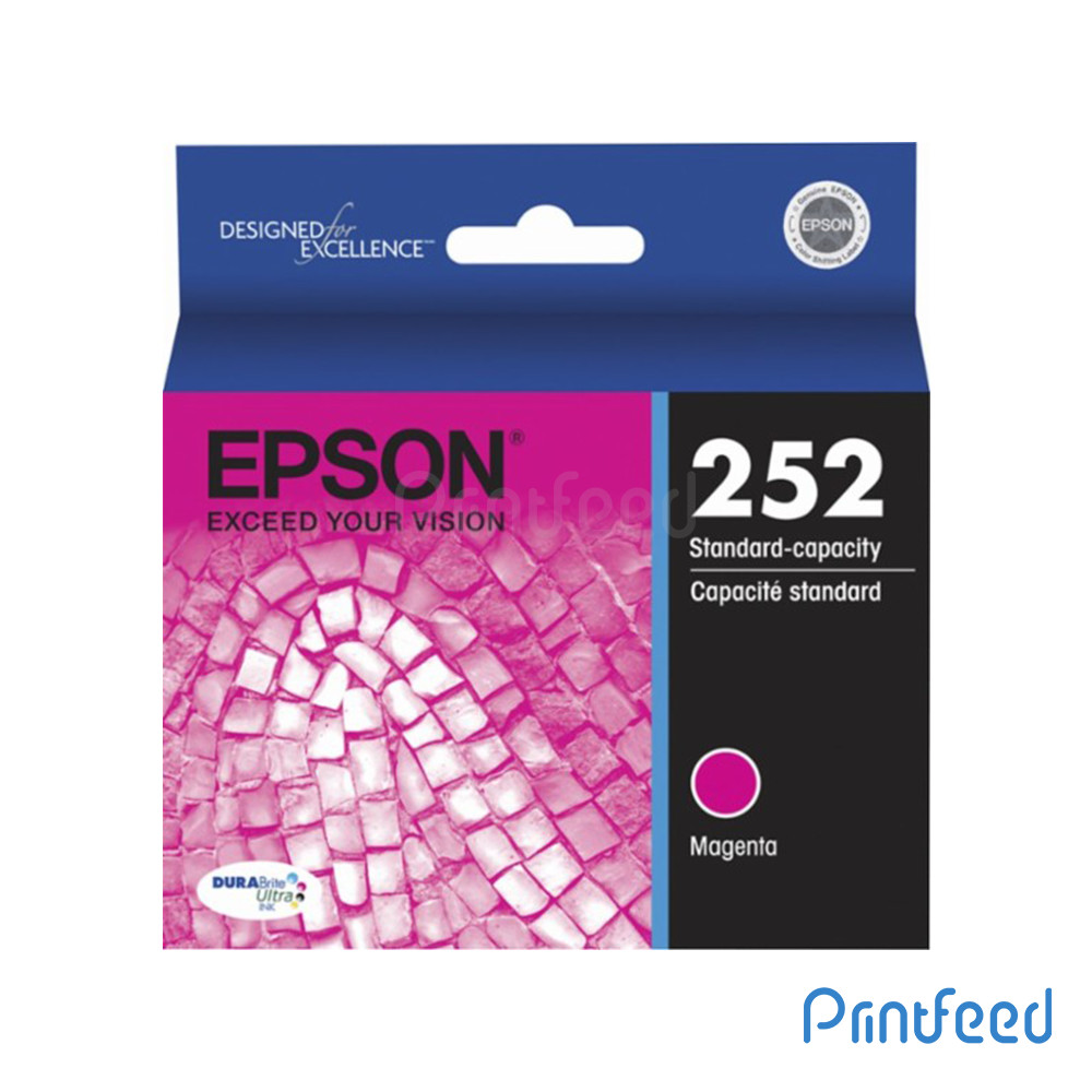 Epson 252 Magenta Ink Cartridge