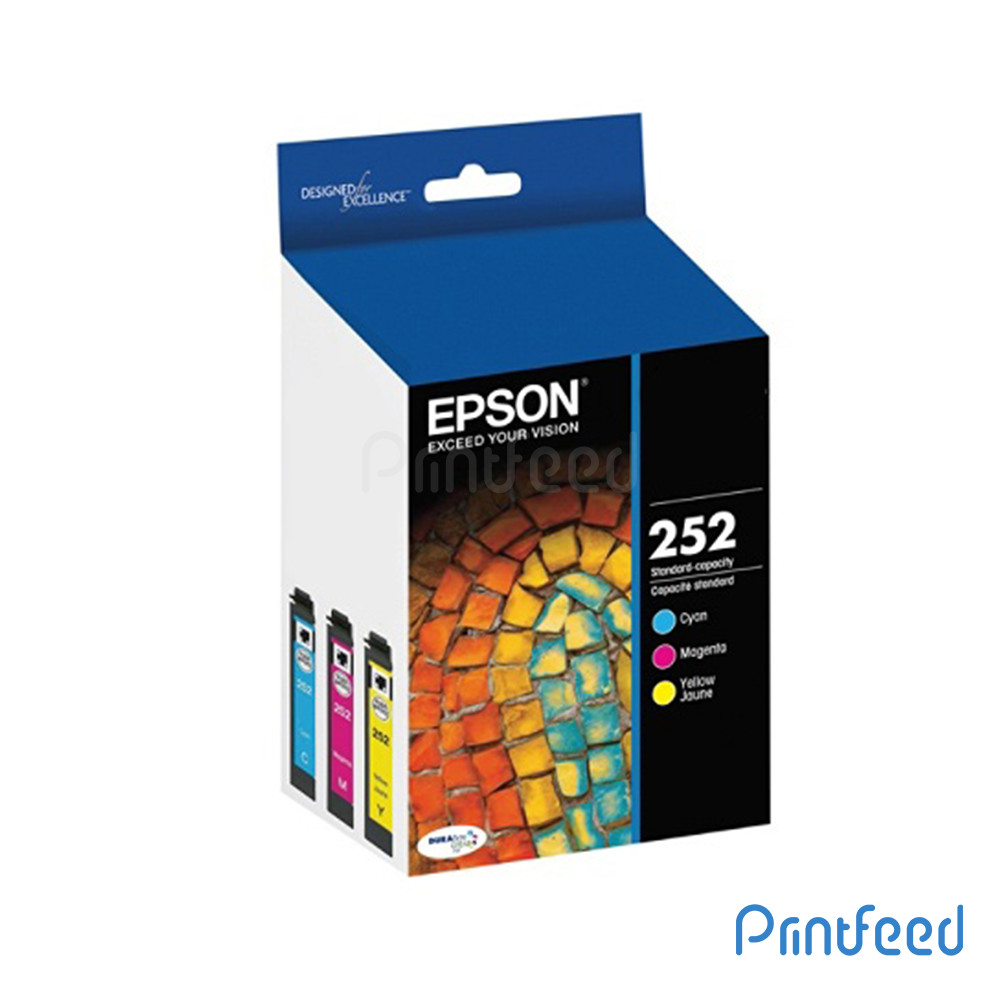 Epson 252 3 Color Ink Cartridge Pack