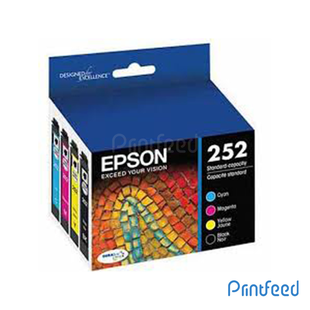 Epson 252 4 Color Ink Cartridge Pack