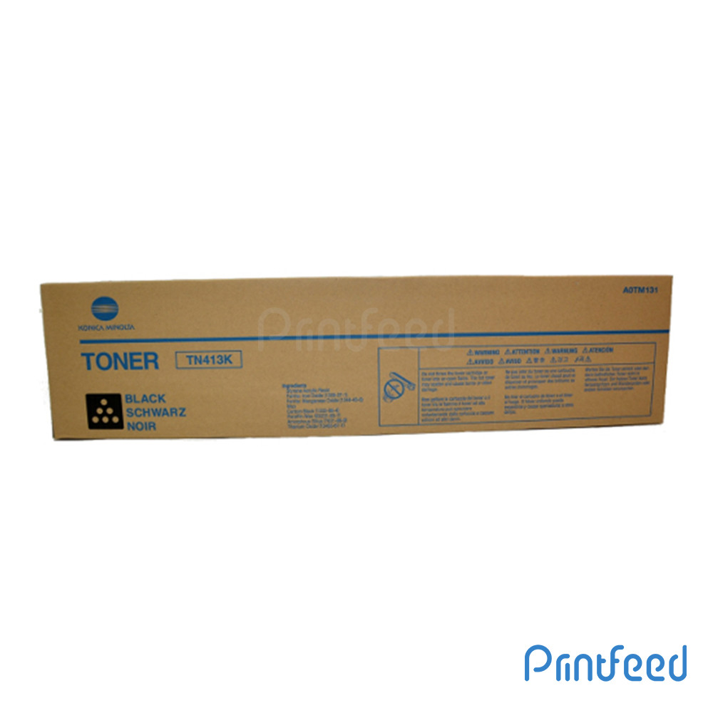 Konica TN413 Black Laser Cartridge