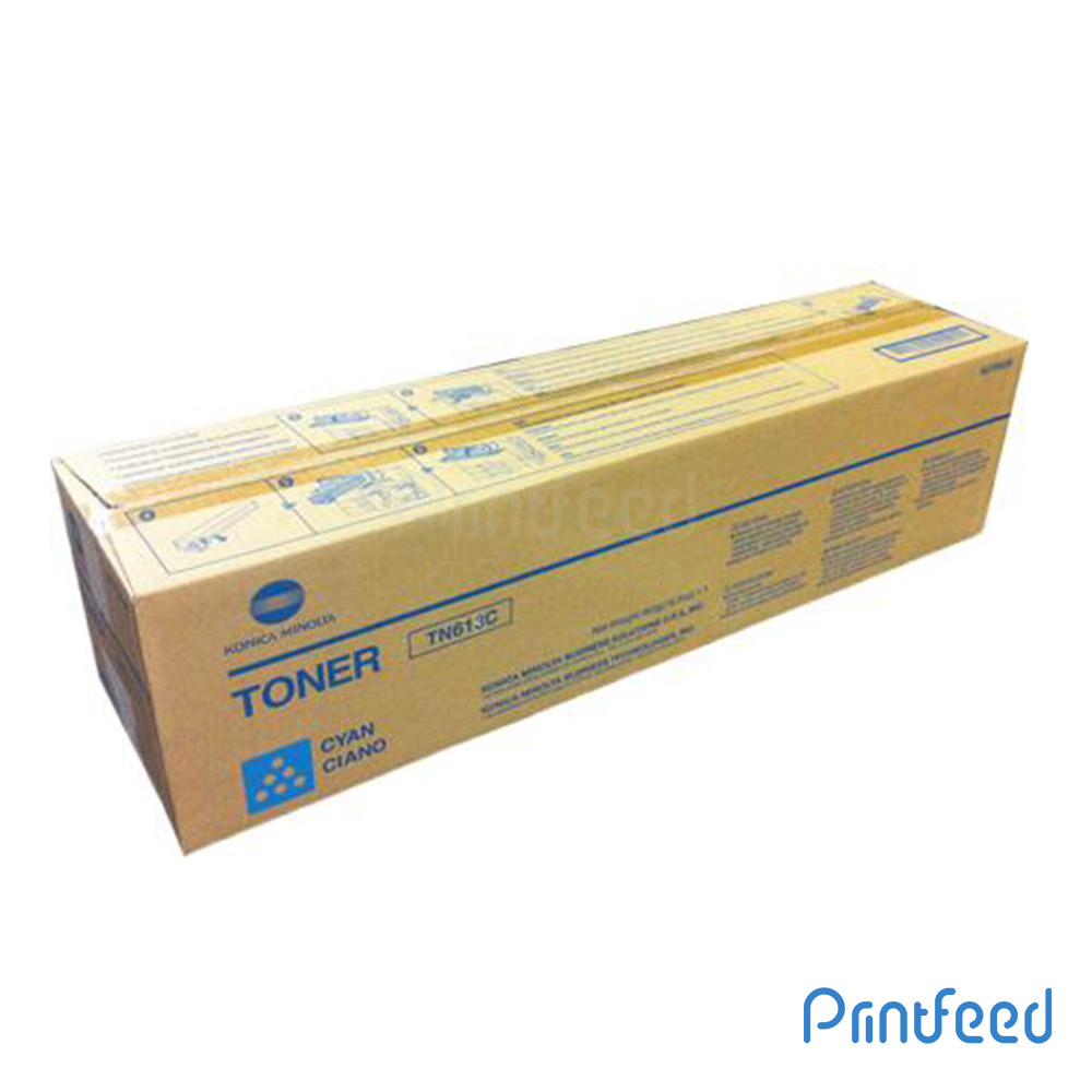 Konica TN613 Cyan Laser Cartridge