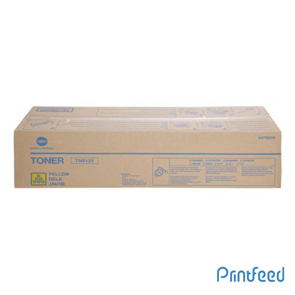 Konica TN613 Yellow Laser Cartridge
