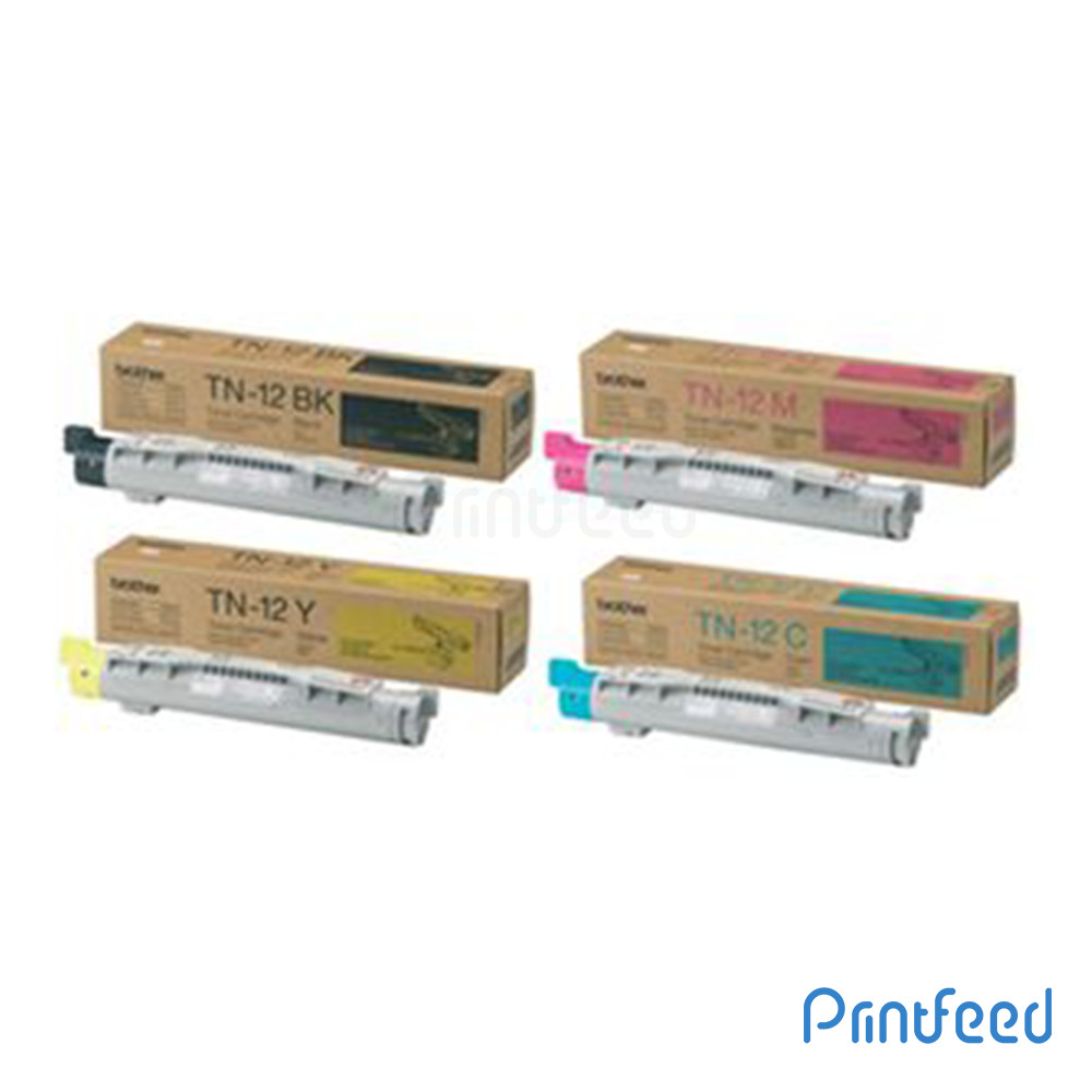 Brother TN-12 4 Color Laser Cartridge Pack