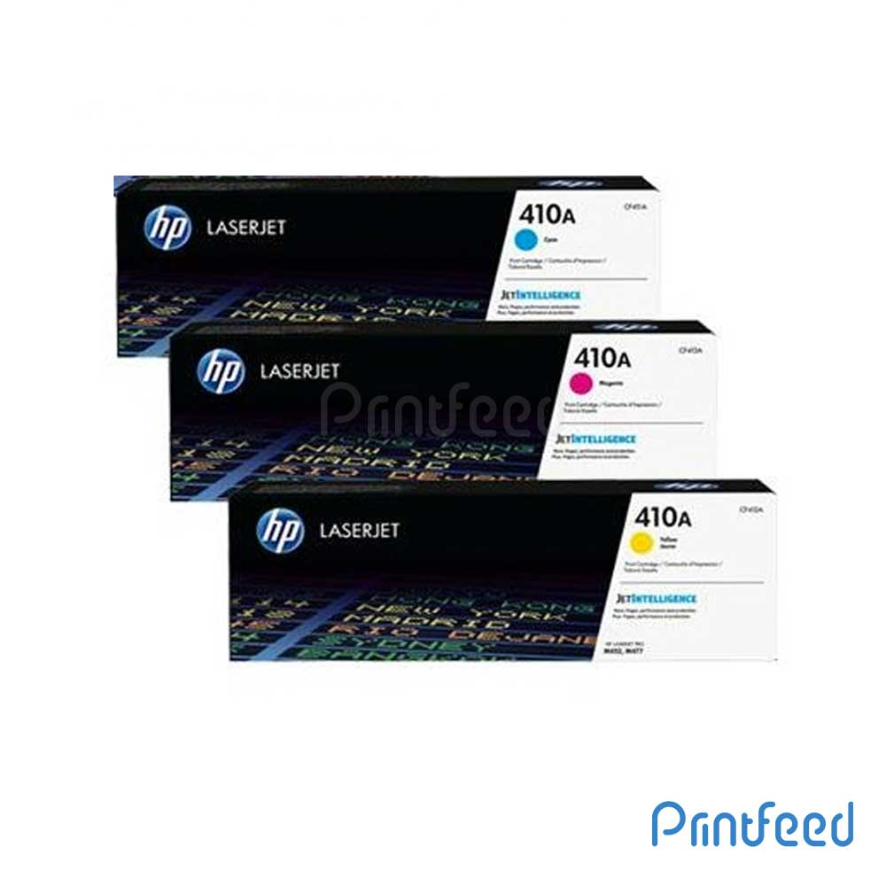 HP 410A 3 Color LaserJet Compatible Cartridge Pack