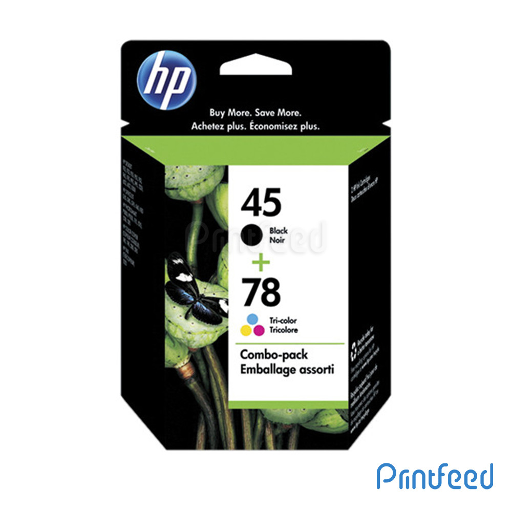 HP 45 / 78 Inkjet Print Cartridge Pack