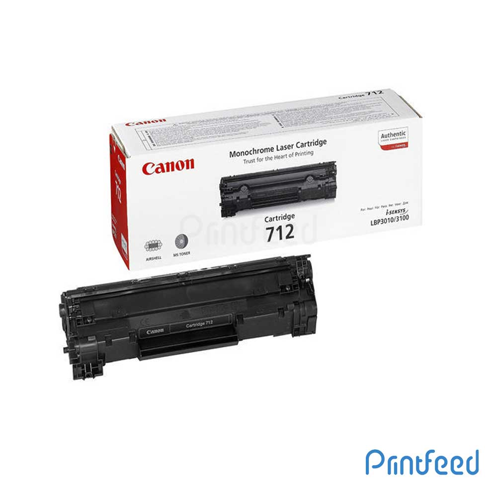Canon 712 Black Toner Compatible Cartridge